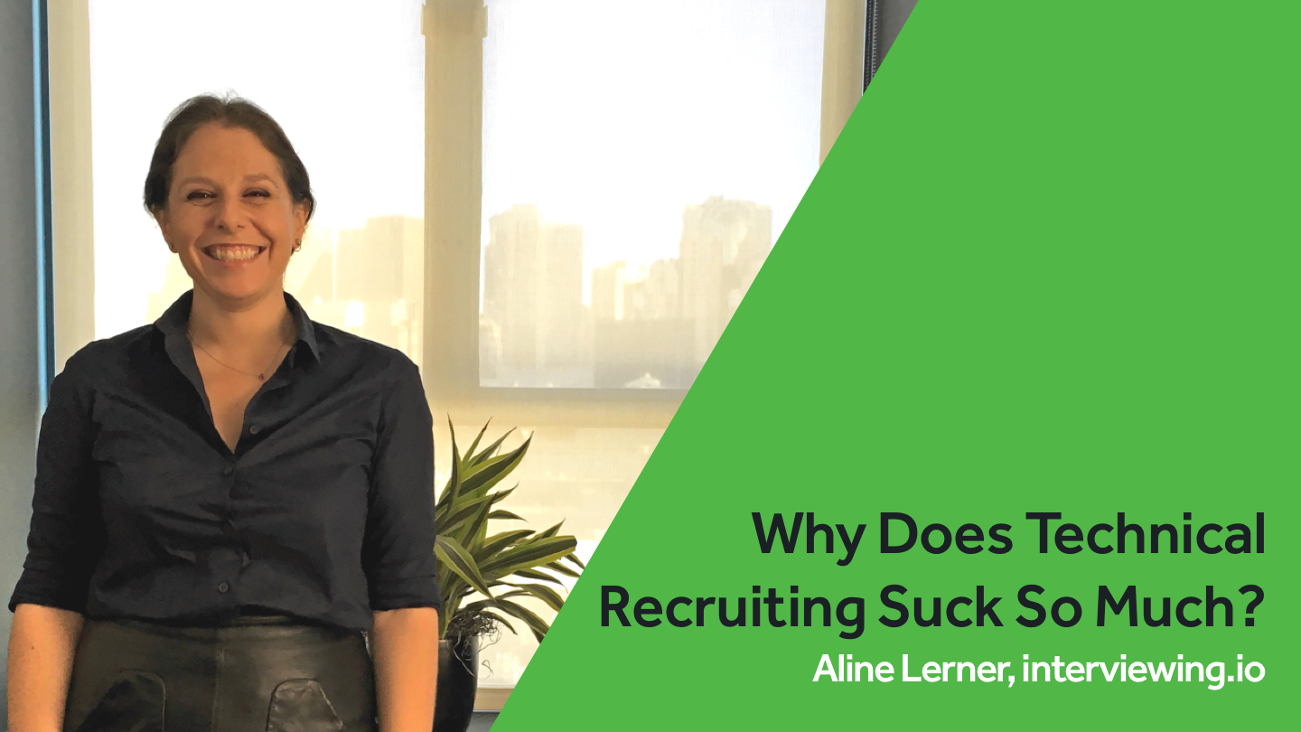 Why Does Technical Recruiting <br>Suck So Much?