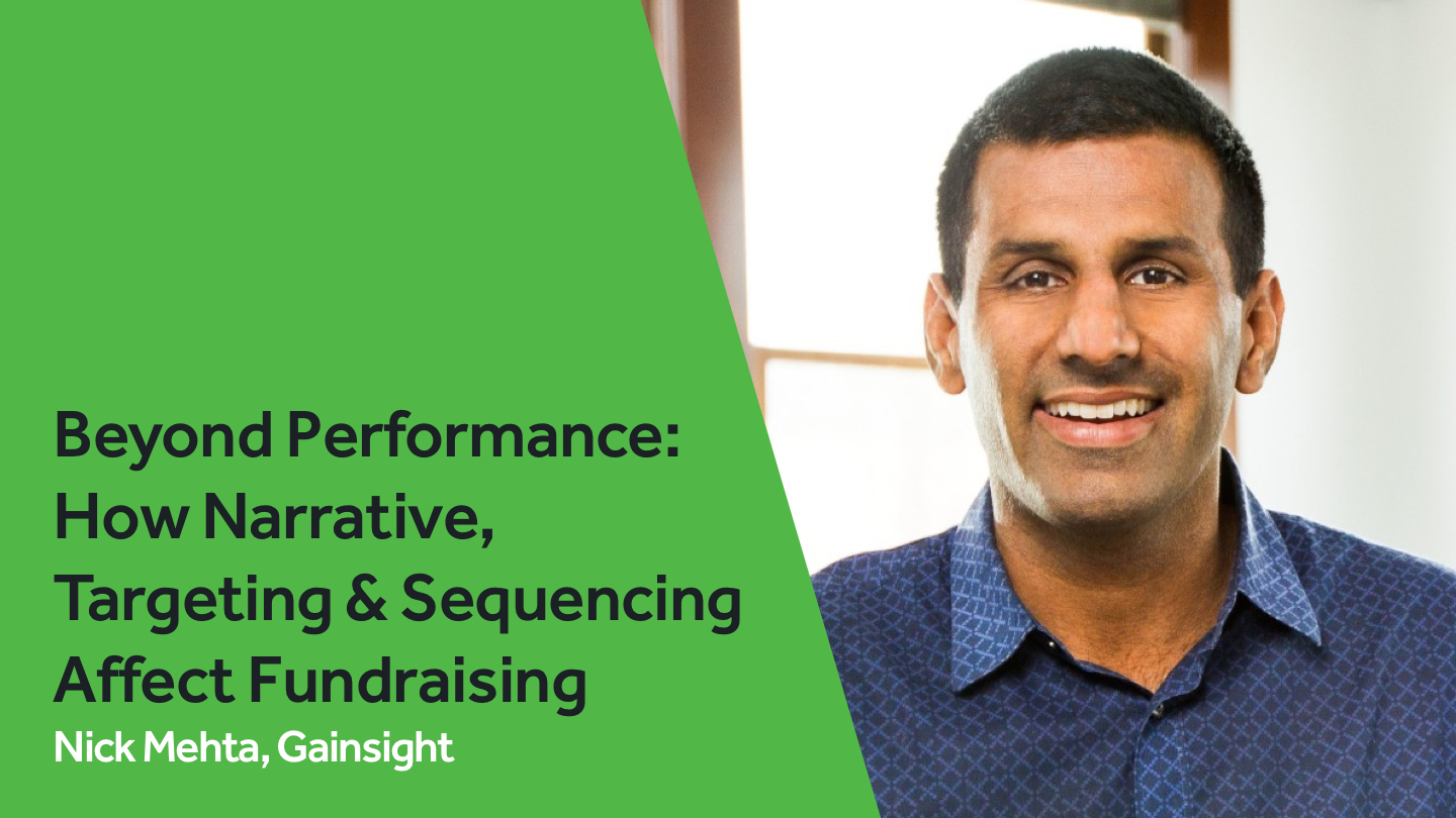 Beyond Performance: <br>How Narrative, Targeting & Sequencing <br>affect Fundraising