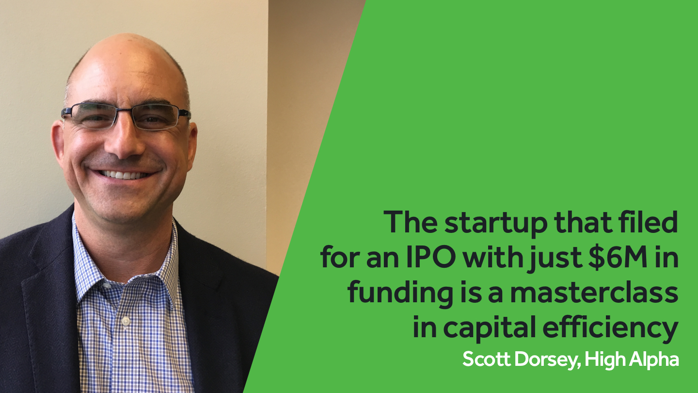 The startup that filed for an IPO with just $6M in funding is a masterclass in capital efficiency